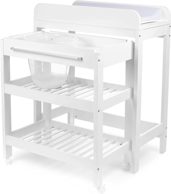 Table A Langer Avec Baignoire Et Place Pour Le Tummy Tub Amazon