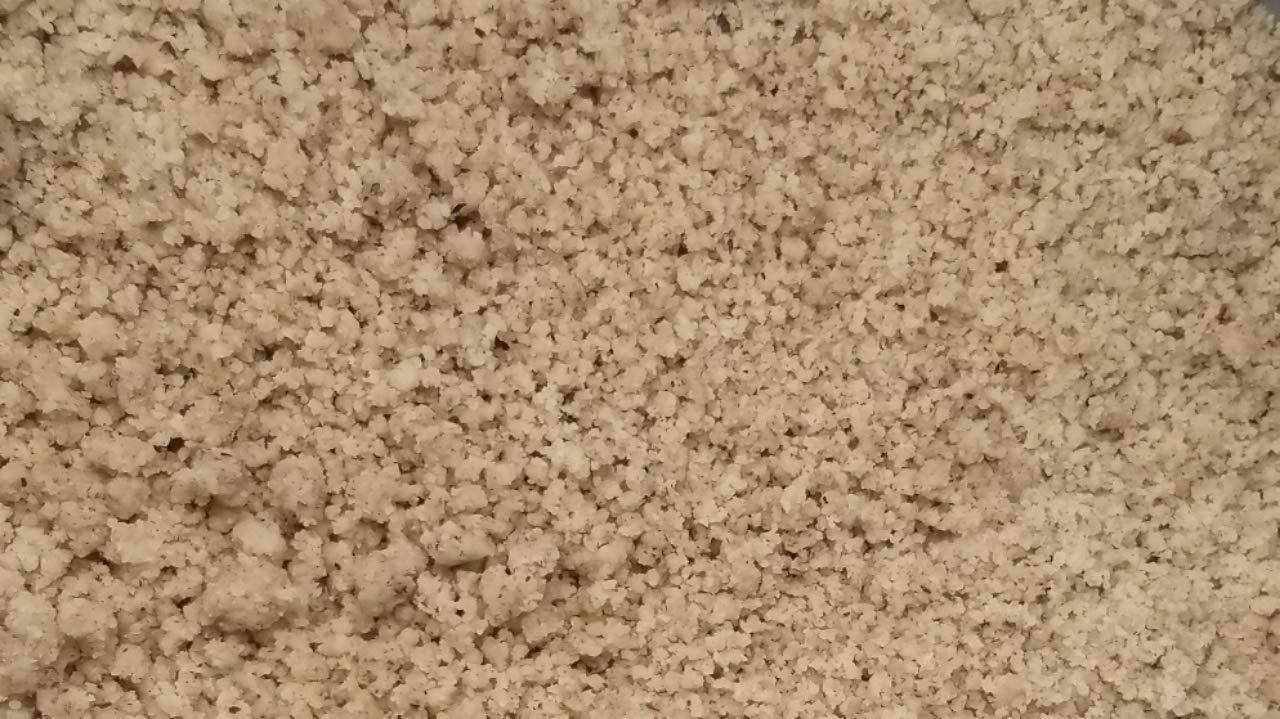 Brazil nuts, ''Fresh quality'' Raw Chopped with flour (3 lbs.) by Presto Sales LLC by Presto Sales