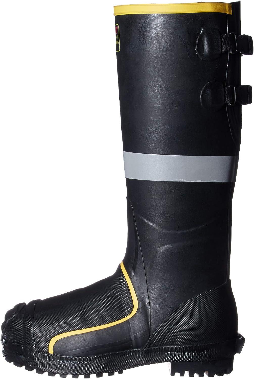 Black Size 12 Tingley MB816B.12 16 Steel Toe//Steel Midsole Metatarsal Boot