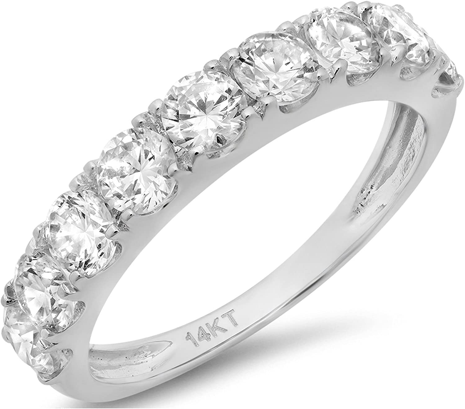 G-H,I2-I3 Size-11.25 1//20 cttw, 3 Diamond Promise Ring in 14K Yellow Gold