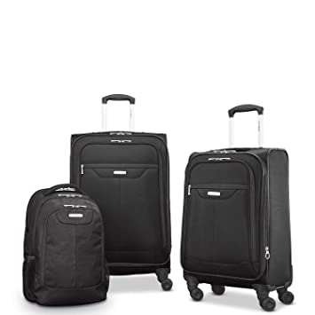 Amazon.com: Samsonite Tenacity 3 Piece Set - Luggage - Black ...