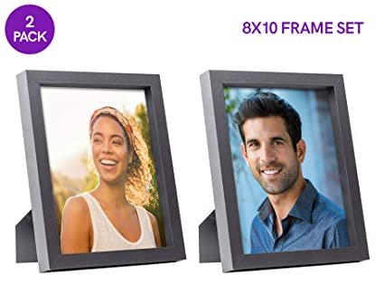 Amazon com - Sixtrees 8X10 Inch Wall Picture Frames, Pre