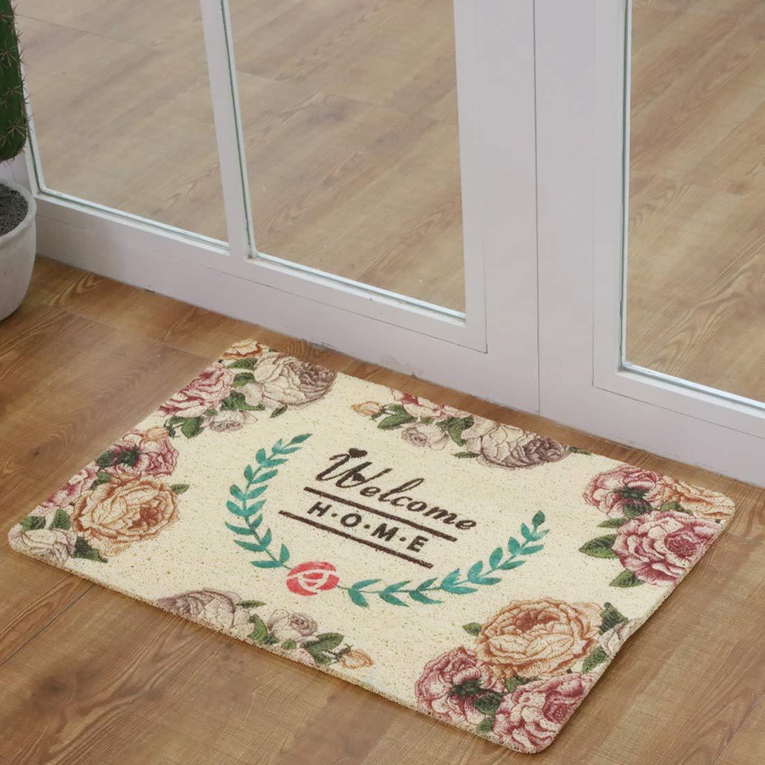 Dream Catcher,Indoor Entrance,Rubber,Non Slip Rug Waterproof for Home Decor 15.8 X 23.6