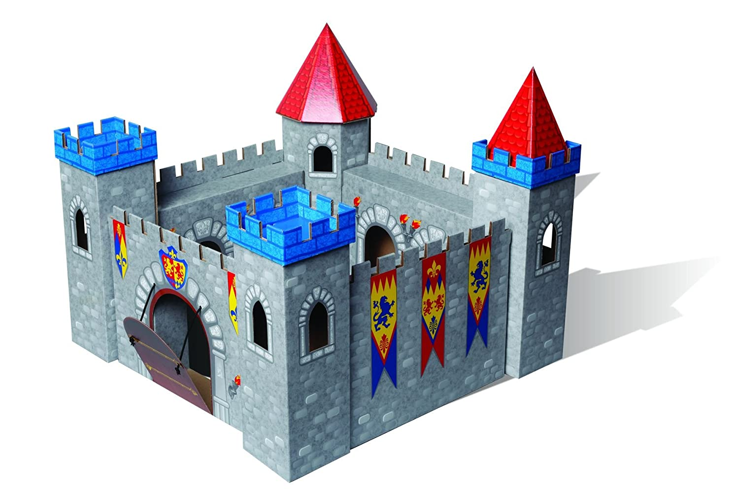 Beautiful Coloring Cardboard Castle Gallery - Coloring 2018 ...