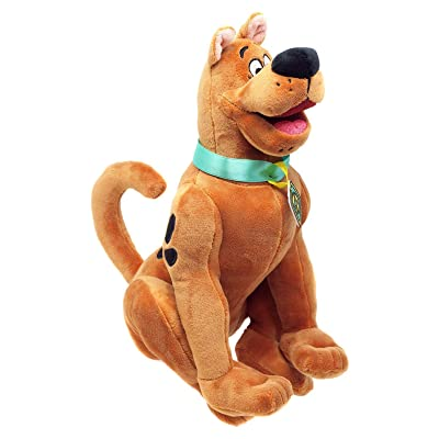 "YuMe Scooby Doo Plush Sitting with Signature Collar and Nametag 11"": Toys & Games"