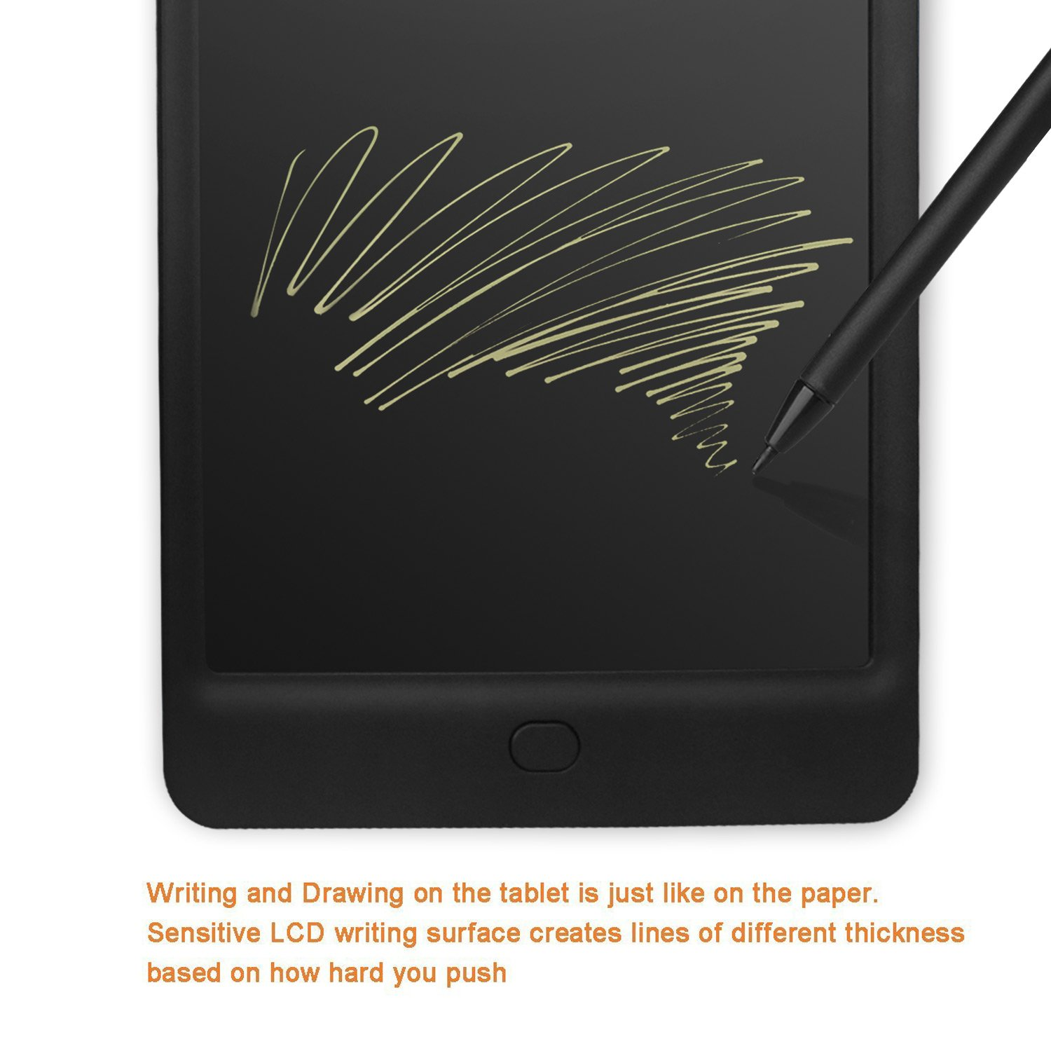 Drawing Lines With Tablet : Turcom inches graphic drawing capture pen and touch tablet