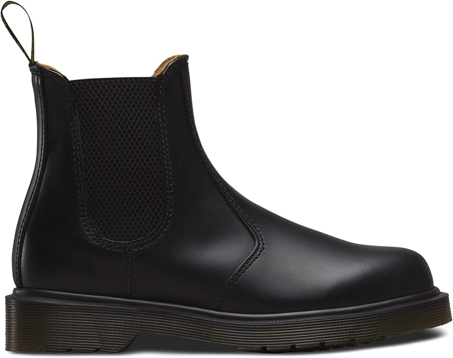 Martens 2976 Chelsea Boot,Black Smooth Dr
