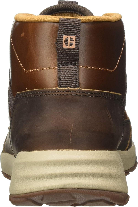 Cat Footwear Herren Quest Hohe Sneaker Sudan Brown Brown Sugar hrukk