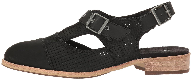 Caterpillar Sandal Women's Martine Sling Back Perforated Shoe Flat Sandal Caterpillar B01HNURIWW 7.5 B(M) US|Black cc0055
