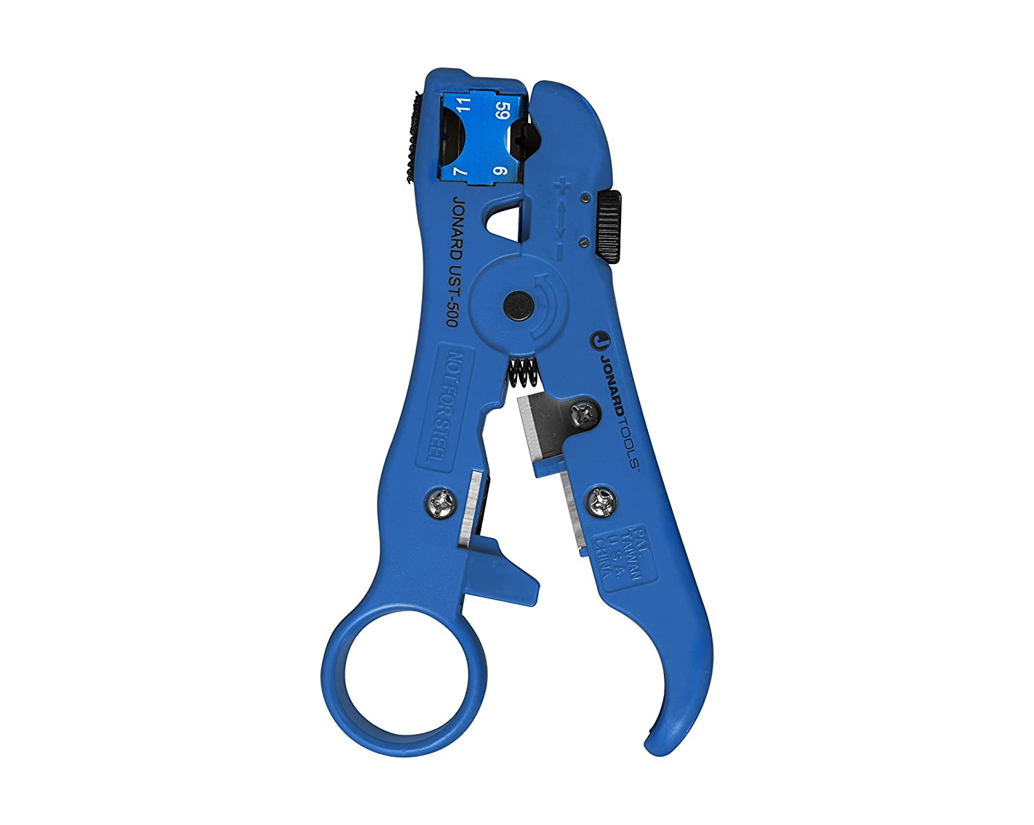 Jonard UST-596 Universal Cable Stripper for RG59 and RG6 Coax Cable ...
