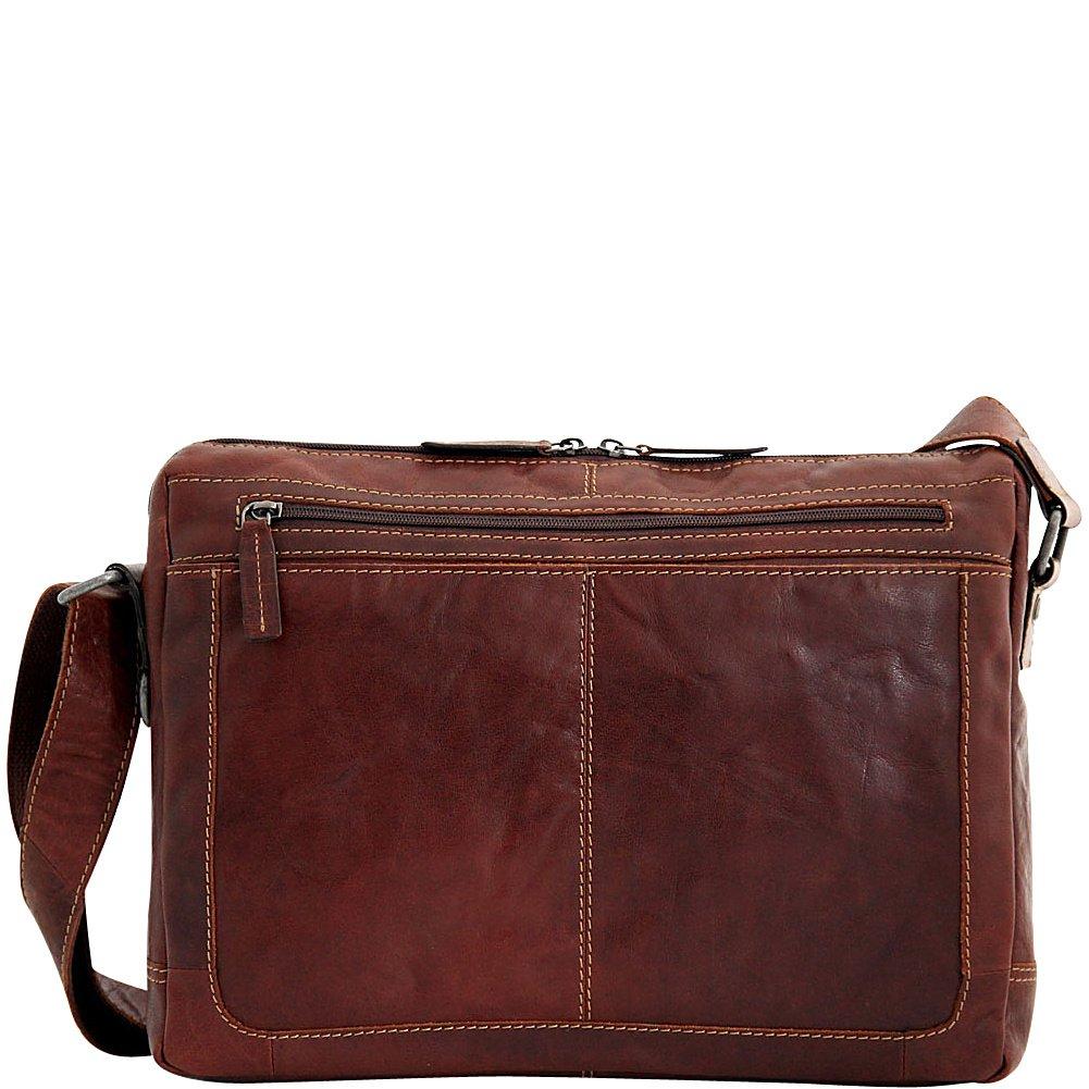 Amazon.com: Jack Georges Voyager con cierre Messenger Bag ...