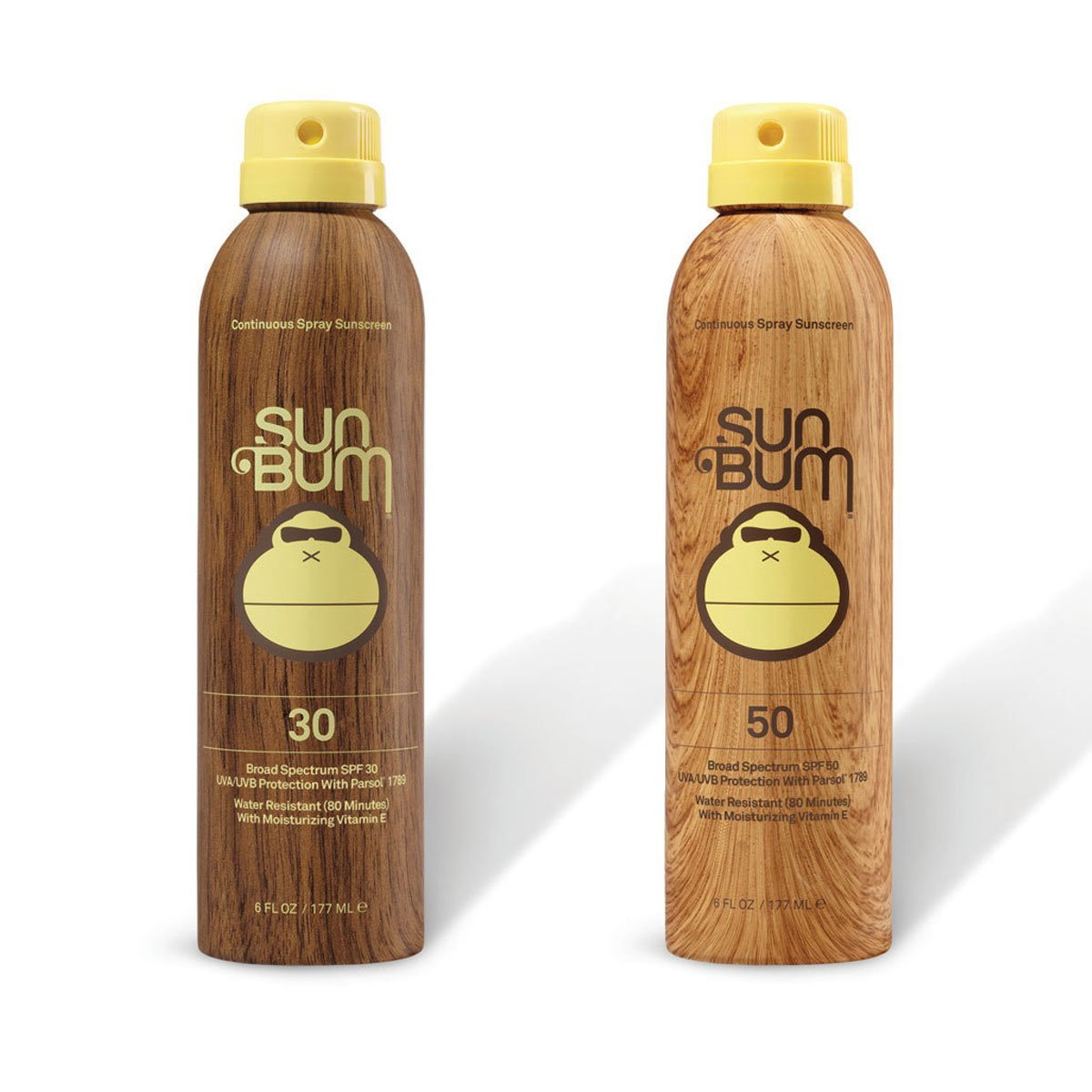 Sun Bum SPF 30 Spray + SPF 50 Spray Combo Sunscreen