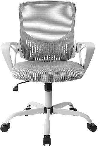SMUGDESK Ergonomic Office Chair Lumbar Support Mesh Chair Computer Desk Chair Task Chair