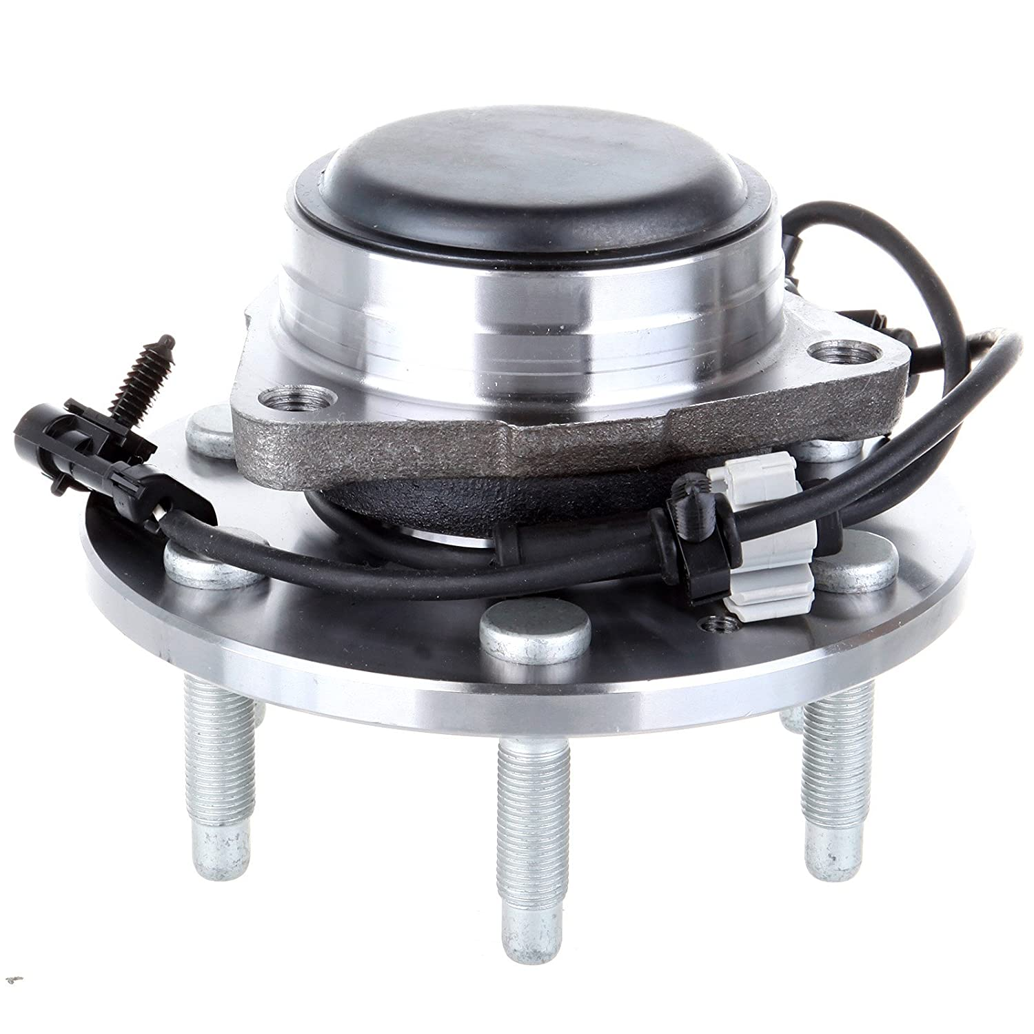 991805-5209-1452039322 OCPTY NEW Wheel Hub Bearings Front 6 LUGS Replacement fit for Chevrolet Silverado 1500 1999-2006 RWD GMC Sierra 1500 1999-2006 RWD Compatible with OE:515054 Pack of 2