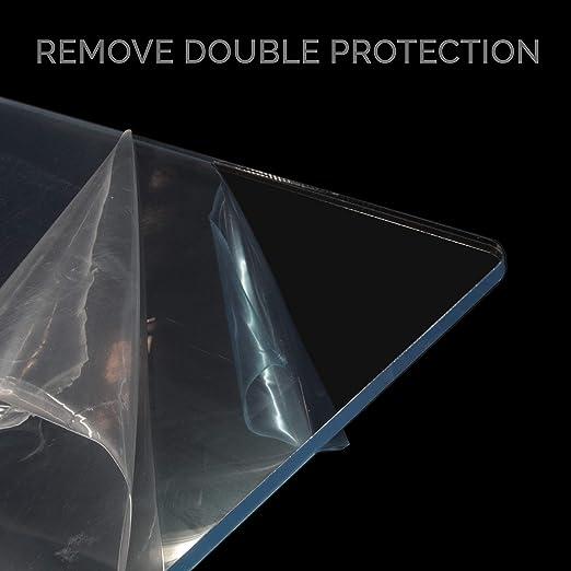Mampara protectora para mostrador 100 x 75 cm metacrilato ...