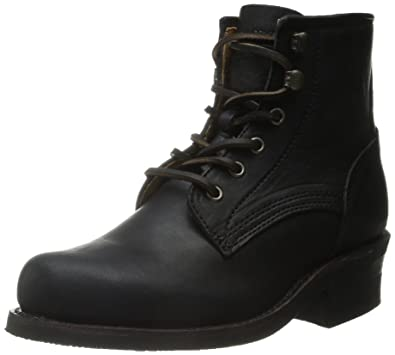 Amazon.com | FRYE Women's Engineer Lace-Up Combat Boot | Ankle ...