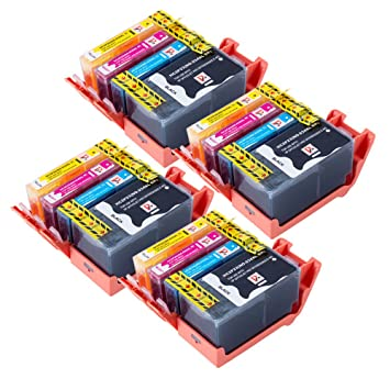 16 cartuchos de tinta compatibles con sustituir la 934 XL 935XL ...
