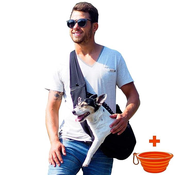 Porta Mascotas para Perros Pequeños y Cachorros - Canguro Delantero para Perros Adecuado para Mascotas de 6 a 12 kg: Amazon.es: Productos para mascotas