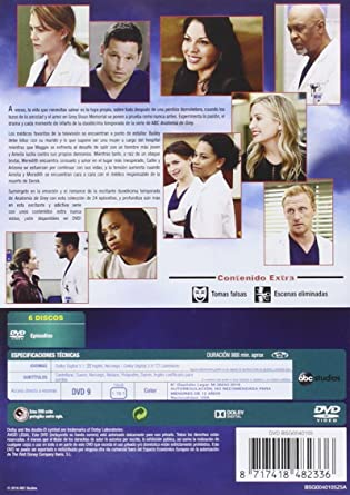 Anatomía De Grey - Temporada 12 [DVD]: Amazon.es: E.Pompeo, J.Chambers, C. Wilson, Shonda Rhimes, E.Pompeo, J.Chambers: Cine y Series TV