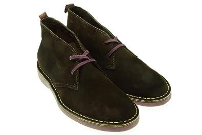 WALLY WALKER man ankle A7 CHUKKA 000005 450 46 Testa di moro  Amazon ... 006285968f5