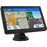 GPS Navigation for Car, Lifetime Maps Update Car Navigator, GPS Navigation System Voice Broadcast Navigation, Free North Amer