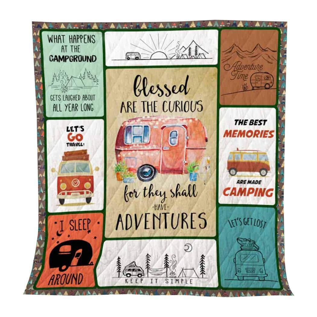 Lunir All-Season Quilts Comforters Decorative Unique Quilted for Household Gifts Throws