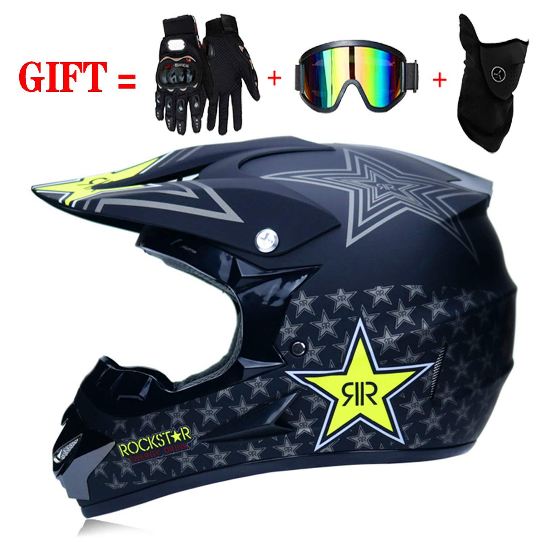 Cross DH Enduro Quad Mountainbike BMX MTB Helm f/ür Damen Vier Jahreszeiten-Version M-GLT Motorrad Motocross Motorradhelme