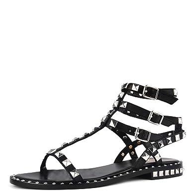 Chaussures Poison Noir Ash Bis Footwear En Cuir 41 Sandales Femme vPwqZ