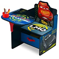 Delta Children Chair Desk With Storage Bin, Disney/Pixar Cars