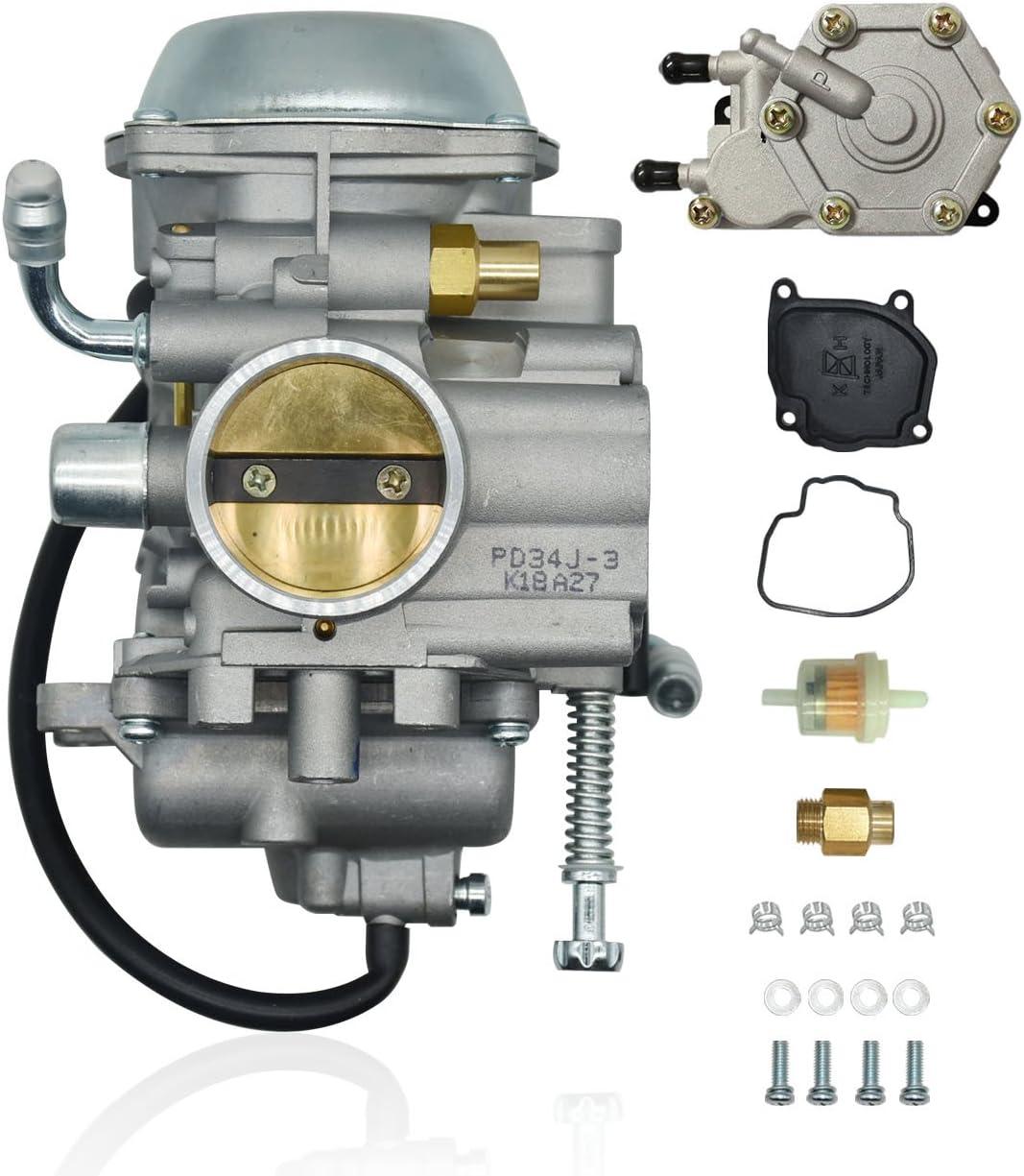 Karbay Carburetor Fuel Pump For Polaris Sportsman 500 ATV Quad Carb 1996-1998 NON HO