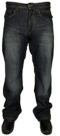 "Mens Big King Size KAM Jeans Relaxed Fit In Mid Blue Colour All Sizes 40/"" T0 60/"""