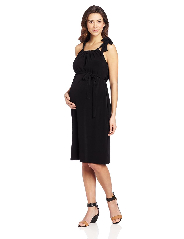 Ripe Maternity Women's Maternity Trixie Dress Black X-Large S1809