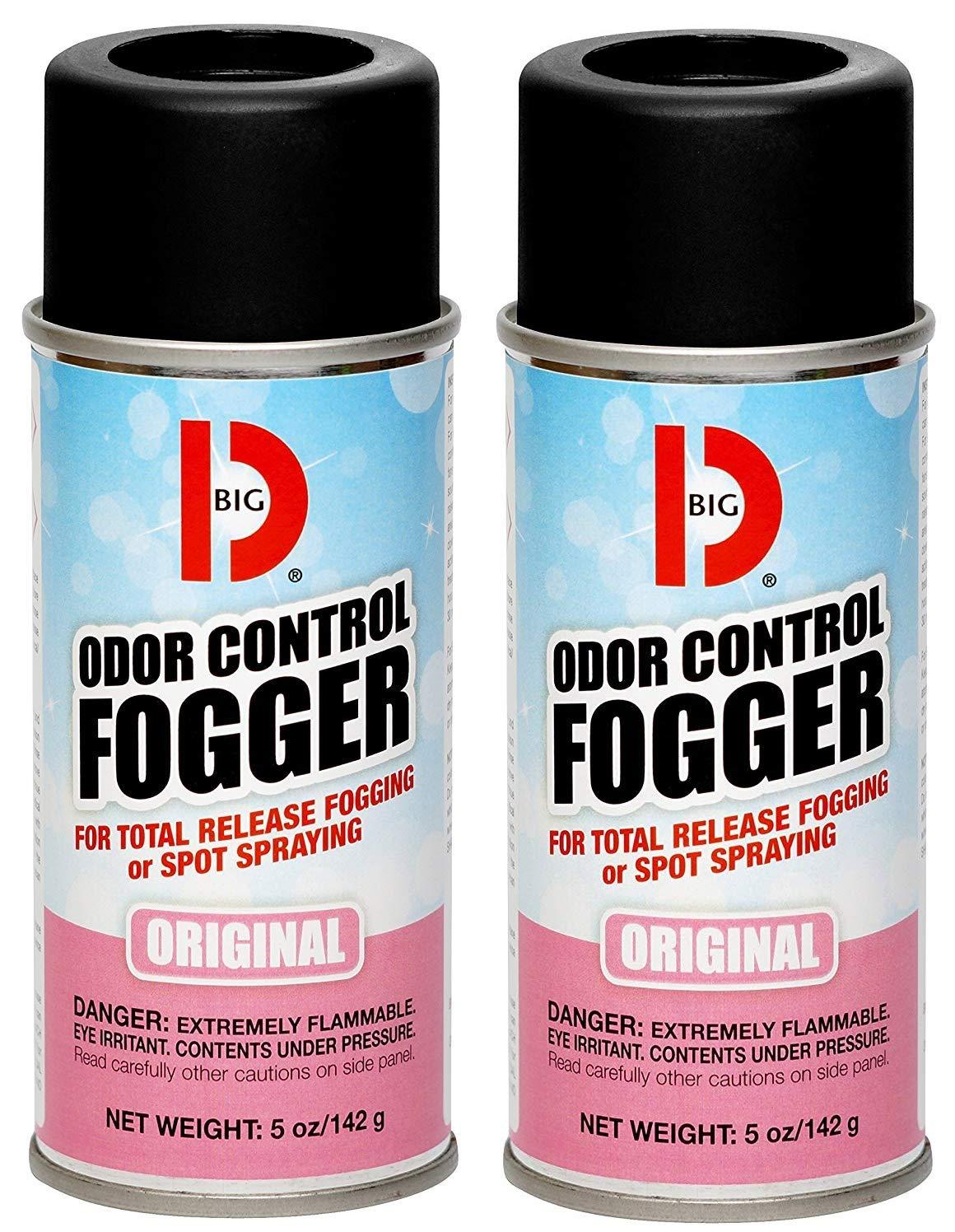 Big D BGD 341 5 oz Odor Control Fogger Aerosol (12 Pack) (Вundlе оf Тwо)