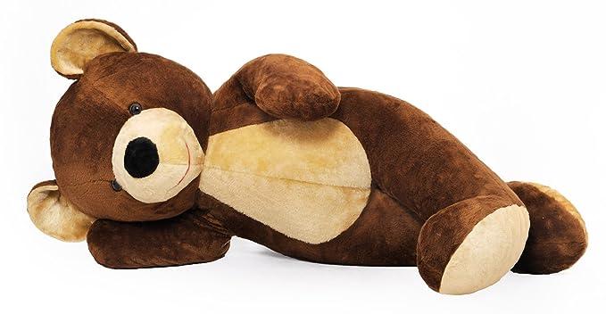 Muy gran osito de peluche marrón 155cm enorme inmenso: Amazon.es: Juguetes y juegos