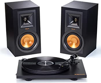 Klipsch R-15PM Stereo Speakers & Pro-Ject Primary Turntable