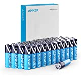 Anker Alkaline AA Batteries (48-Pack), Long-Lasting & Leak-Proof with PowerLock Technology, High Capacity Double A Batteries