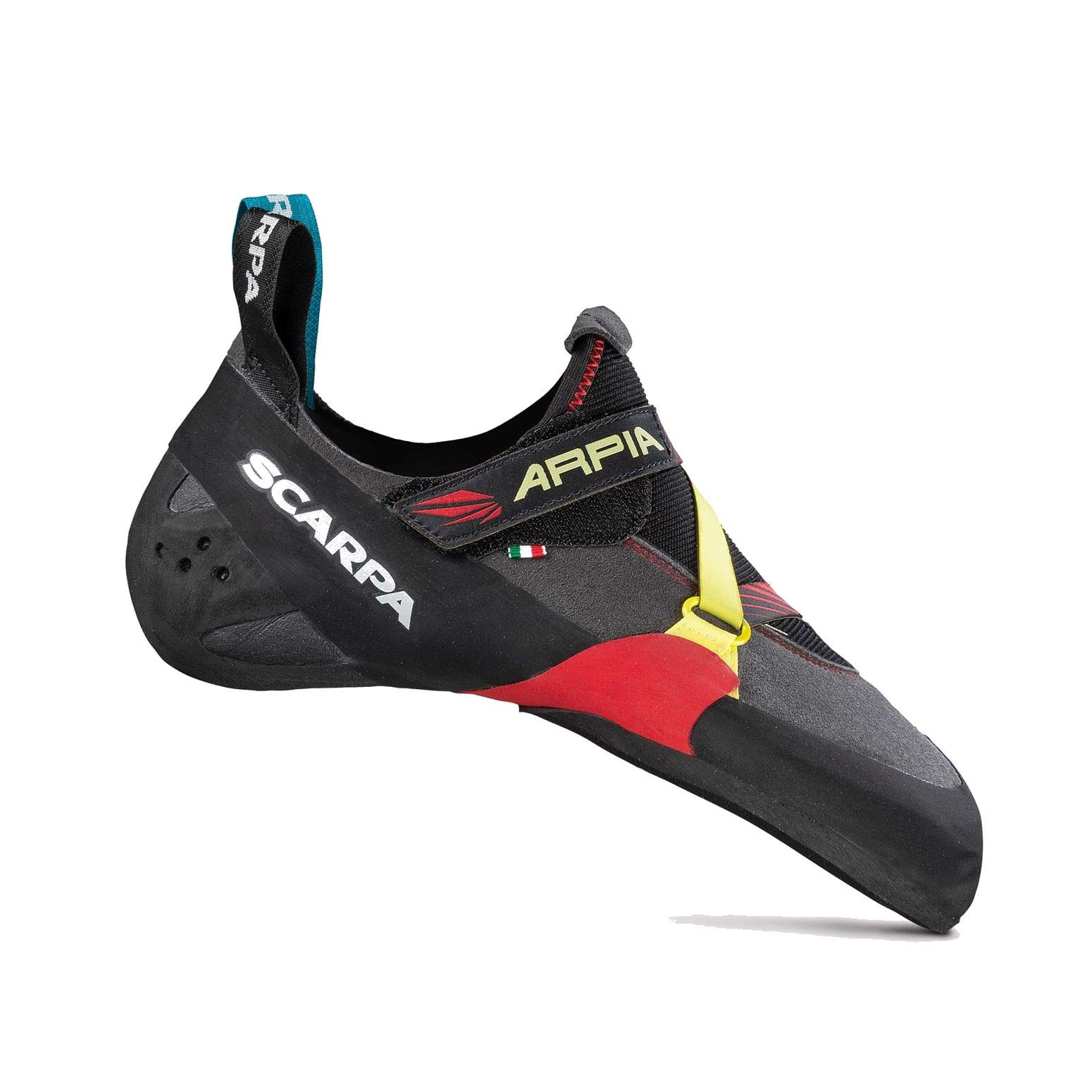 SCARPA Arpia Climbing Shoe - Men's Black/Red 42 by SCARPA