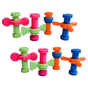 Munchables Spinner Pencil Topper Fidget Toys (Set of 8 Toolbox Pencil Toppers)