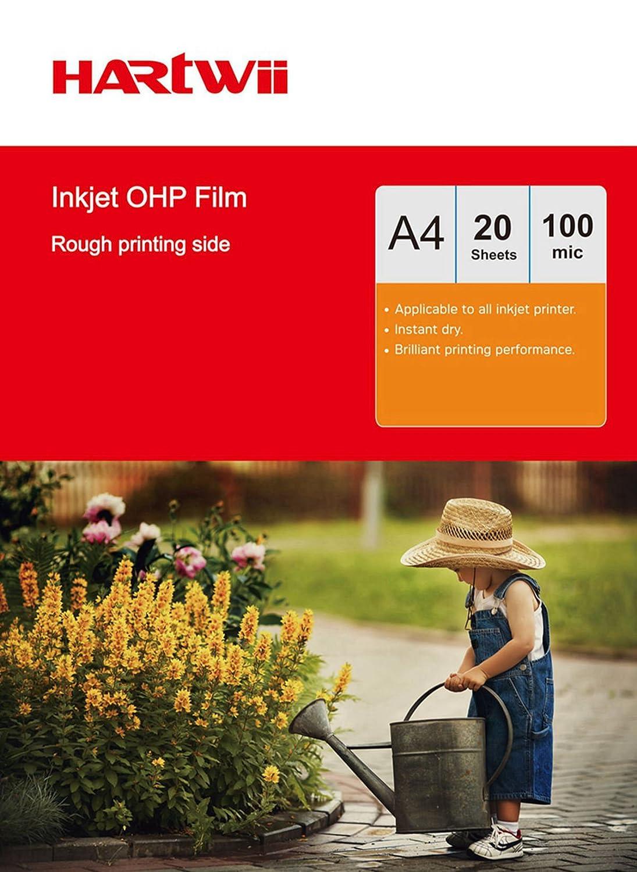 OHP película de acetato transparente impresoras de inyección de ...