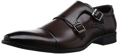 Amazon.com | MM/ONE Mens Double Monkstrap shoes oxford dress shoes ...