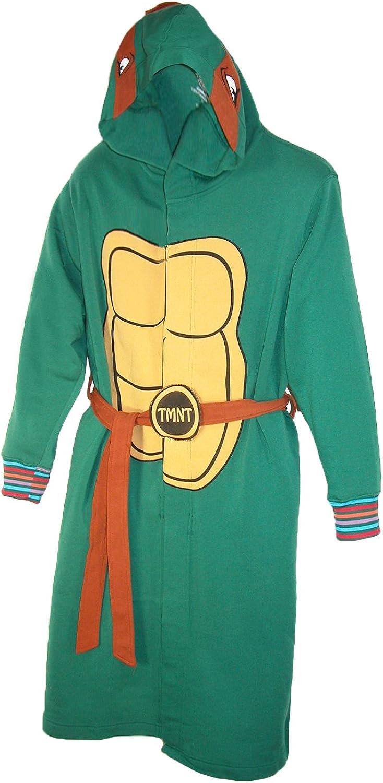 BioWorld Teenage Mutant Ninja Turtles Hooded Robe, S/M, Green: Home & Kitchen
