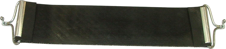 Pandoras Upholstery 1 Pieza 45,72 cm de Goma con Correa de Goma de Repuesto para tapicería Pirelli Ercol Gancho Estilo, Negro
