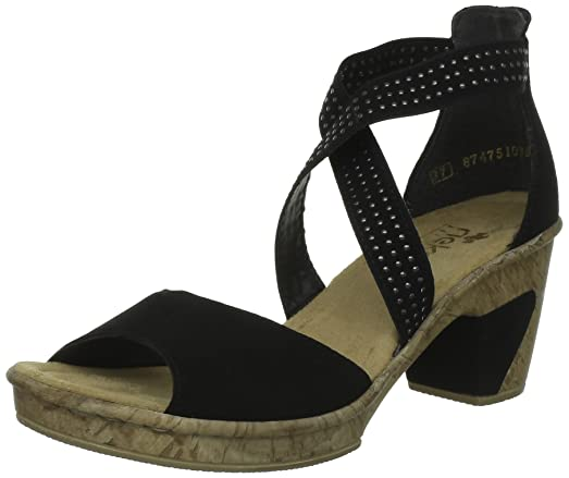 Rieker Femmes Femme Amazon Rieker Cher chaussures Sandales Pas YEHW92ID