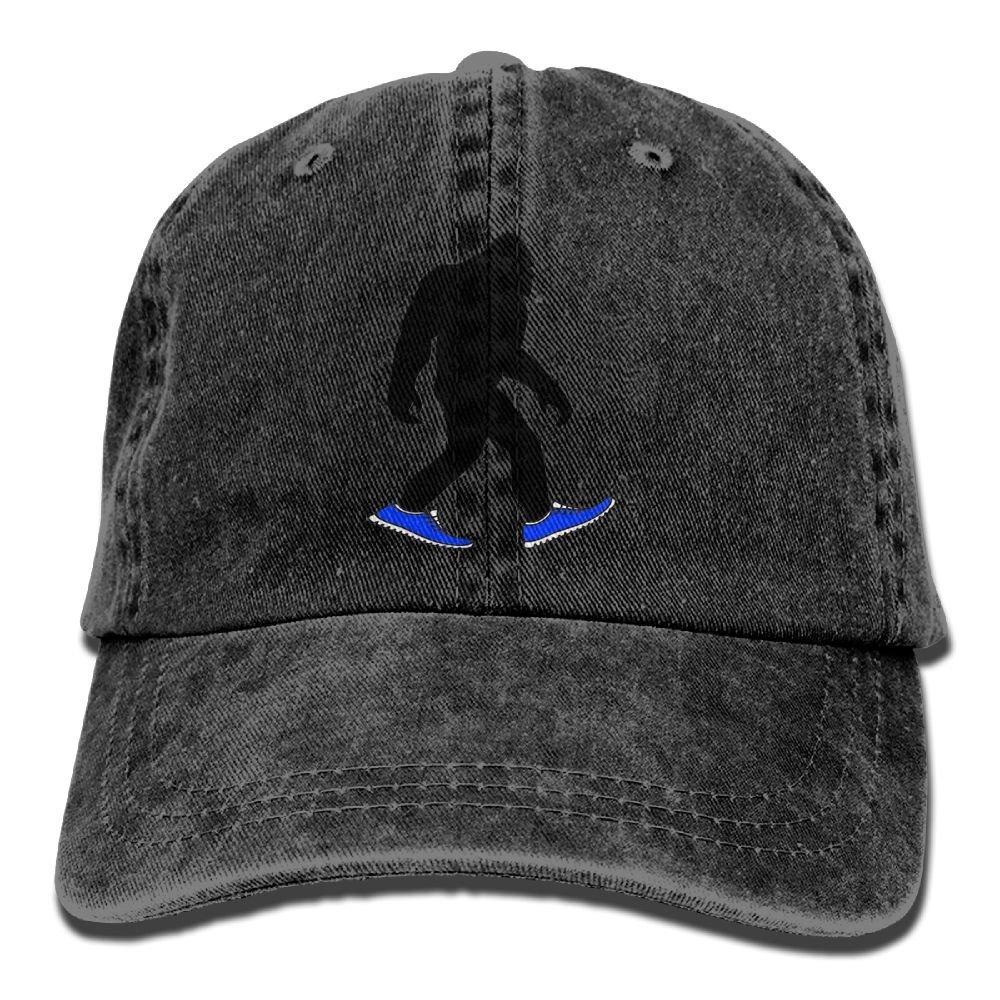 LETI LISW BigfootWashedDenim Cap Adult Unisex Adjustable Cap