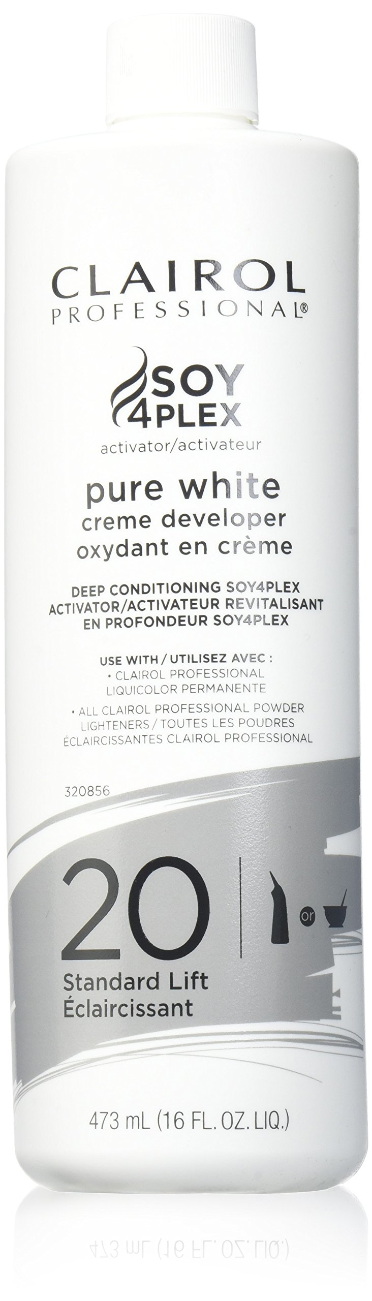 Clairol Pure White 20 Creme Developer Standard Lift 16oz