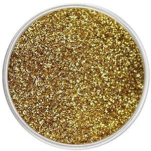 24K GOLD Luxury Cake Disco Diamond Dust, 6 grams, USA Made