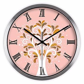LLSJZ CLOCK La Tendencia Moderna de Reloj de Pared El salón Oficina Reloj de Pared de