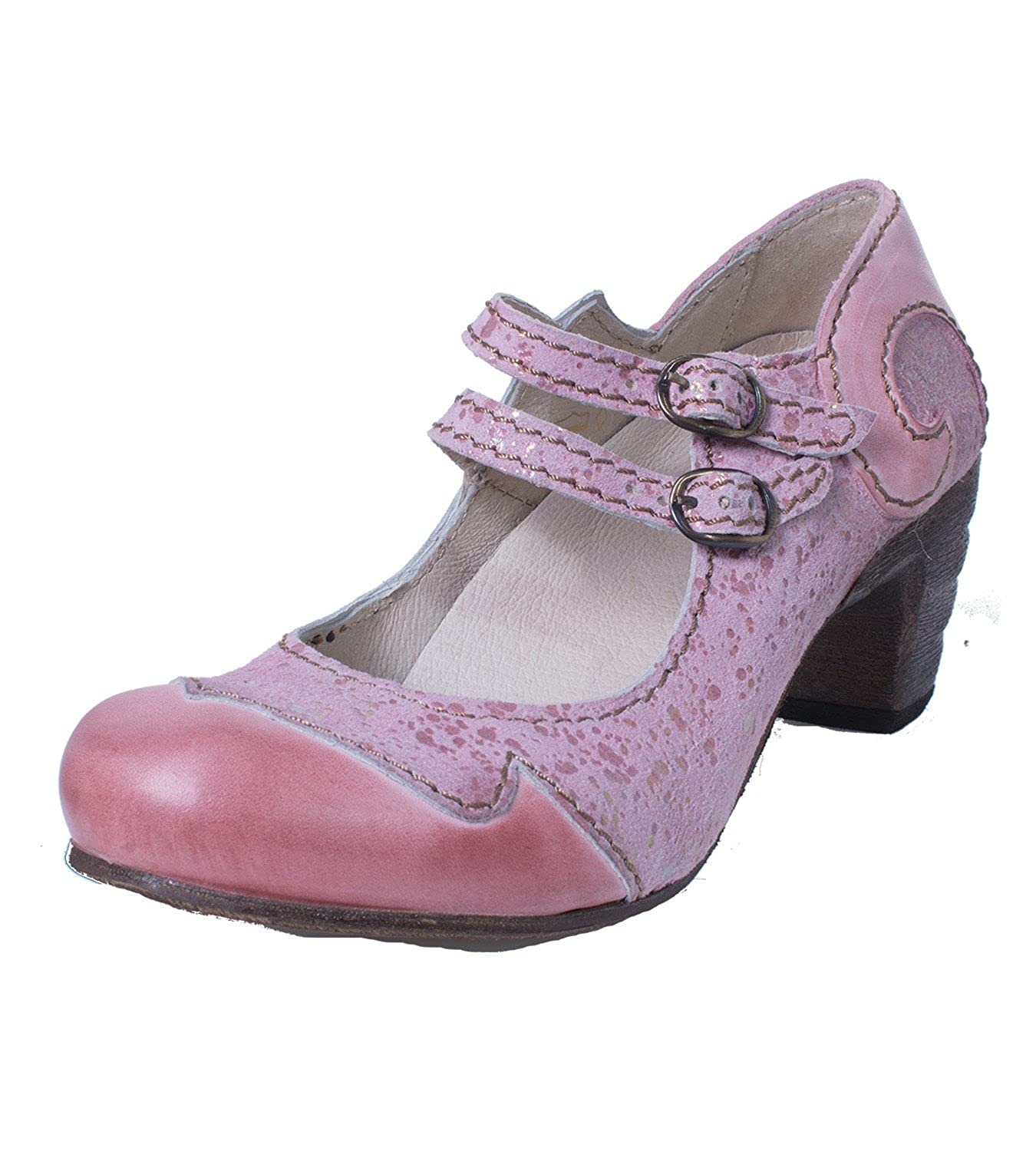 Rovers Pumps 51001 Crust Costa lila Märchenhafte Sommer Pumps Rovers in Rosa 8adb62