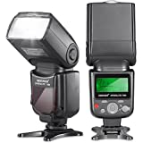 Neewer 10070994 VK750 Speedlite II-i-TTL-Blitz mit LCD-Display für Nikon SLR-Digitalkamera