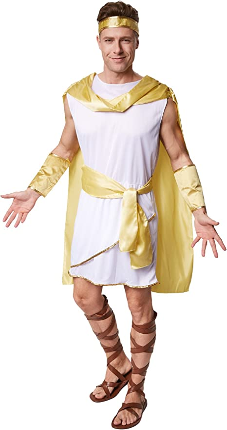 TecTake dressforfun Disfraz para Caballero de Emperador Romano ...